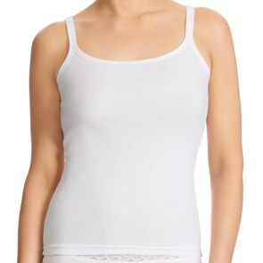 Jockey Cotton Rib Camisoles WWC3 White