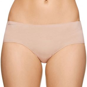 Jockey No Panty Line Promise Next Generation Cotton Boyleg WXVY Silk Beige