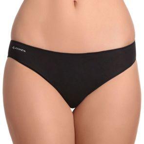 Jockey No Panty Line Promise Next Generation Cotton Bikini WXW3 Black