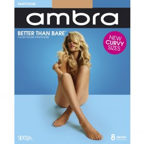 Ambra Better than Bare Fuller Figure Pantyhose BETTBPHFF Natural Bisque Multi-Buy